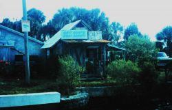 Wackie Jackie's Bait House, serving the sport fishermen south of Hernando Beach This is an old time bait and tackle shop. Photo