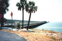The Gandy Bridge fishing catwalk Photo