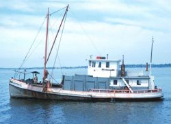 A Long Island Sound oyster boat Image