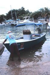 Fishing craft built by the municipality of Rincon Photo