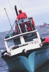 Gusty Chocknok, skipper of the F/V HELEN MARG out of Togiak Bay Photo