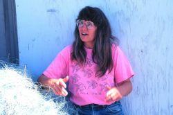 Maine lobster fisherwoman Photo