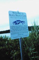 A landing area for local fishermen on Tilghman Island Image