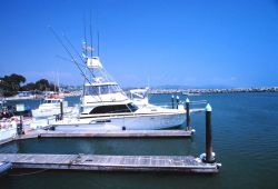 A trim recreational fishing boat Photo