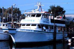 Headboat F/V CAPT DOUG II tied up on the Woodcliff Canal Photo