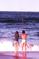 A love affair with the sea - surf fishing at Rodanthe Image