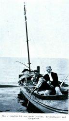 Angling for tuna at Santa Catalina Island Image