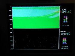 Visual computer display of acoustic signals Photo