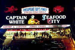A Chesapeake Bay seafood market. Photo