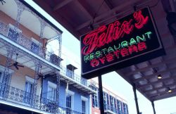 A New Orleans seafood restaurant. Photo