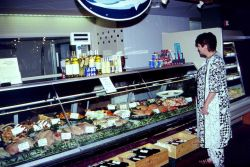 A seafood market in Mclean, Virginia. Photo