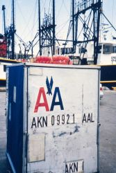 Air freight containers are crucial to Puerto Rican fisheries that send and other premium fish to the east coast. Photo