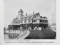 Residence and Fisheries Bureau Headquarters at Woods Hole Photo