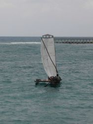 Sao Tomean artisanal fishing boat Photo