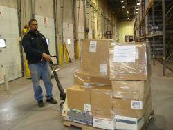 Humanitarian goods shipment to Senegal at U Photo