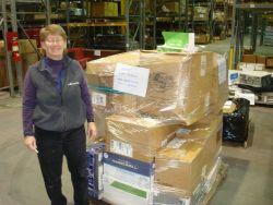 Humanitarian shipment to Senegal at U Photo