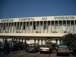 The Central Fish Market at Dakar. Photo