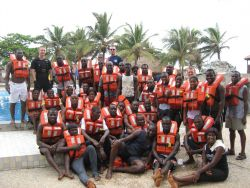 Students from the Ghana observer training Photo