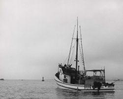 Tuna boat off Oregon coast Photo