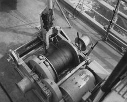 Plankton winch on the BCF ship HUGH M Photo