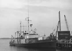 Research vessel CRAWFORD at Woods Hole Photo