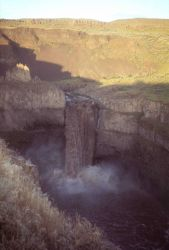 Palouse Falls in the Columbia River Scablands Photo