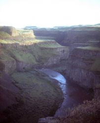 Palouse River Canyon in the Columbia River Scablands. Photo