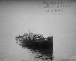Whitefish gill net Steamer Great Lake (Lake Huron). Photo