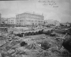 Candle factory, New Bedford, MA. Photo
