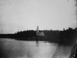 Lighthouse, unidentified. Photo