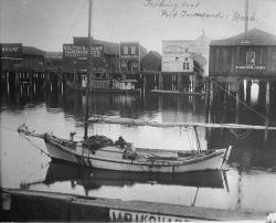 Fishing boat, Port Townsend, WA. Photo