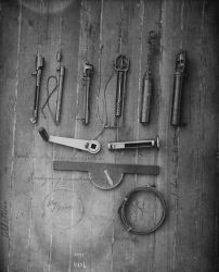 Albatross, sampling tools. Photo
