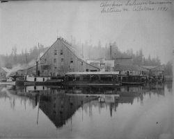 Alaskan salmon canneries, salteries, etc Photo