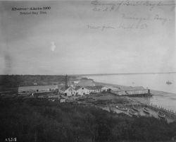 Albatross, AK, 1900, Bristol Bay district, Cannery of Bristol Bay Canning Co Photo