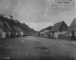 South Sea cruise 99-1900, Ladrone Islands, Guam, main street of Agana. Photo