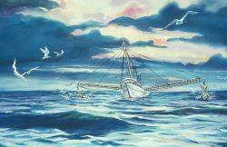 Shrimp vessels land the most valuable species taken along the South Atlantic coast Photo