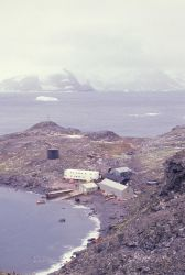 A field station at South Georgia Island. Photo