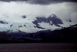 Glacier's edge, South Shetland Islands, 1987. Photo
