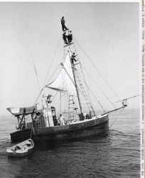 A commercial swordfishing boat out of New Bedford. Photo