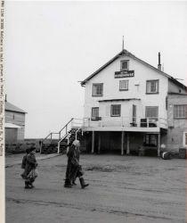 Eskimo woman and children on Bethel street Photo