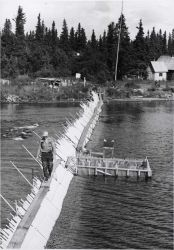Brooks Lake weir and research station Photo