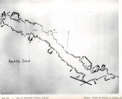 Class map of Amchitka Island drawn by Robert D Photo