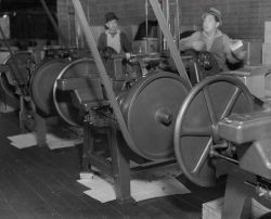 Can making machinery at a cannery at Sand Point Photo