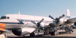 Weather Bureau DC-6 N6540C on the ground Photo
