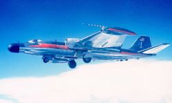 ESSA B-57 N1005 in flight Photo