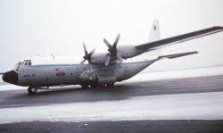 NOAA C-130 N6541C on tarmac. Photo