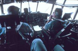 Cockpit of NOAA C-130 N6541C Photo