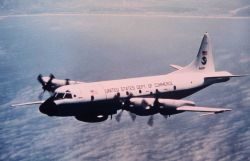 NOAA P-3 N42RF in flight Photo