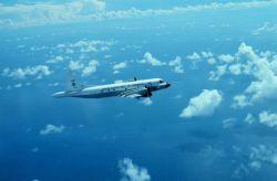 NOAA P-3 N42RF in flight Photo