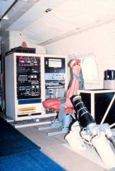 Dropwindsonde station and airborne expendable bathythermograph station on P-3. Photo